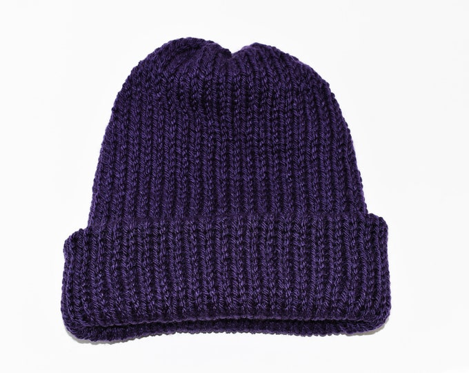 The Classic Beanie Plum