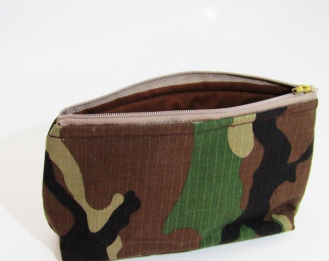 Cosmetic Bag ~ Camouflage Cosmetic Bag ~ Makeup Bags ~
