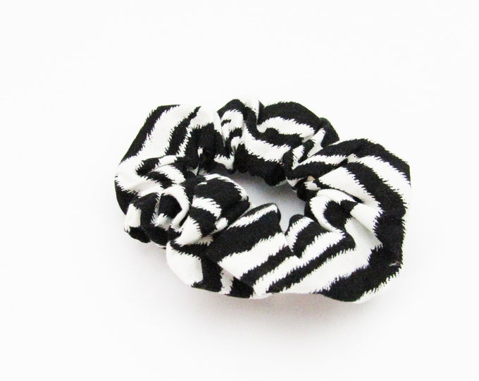 Zebra Animal Print Scrunchie  ~ Hair Cloud