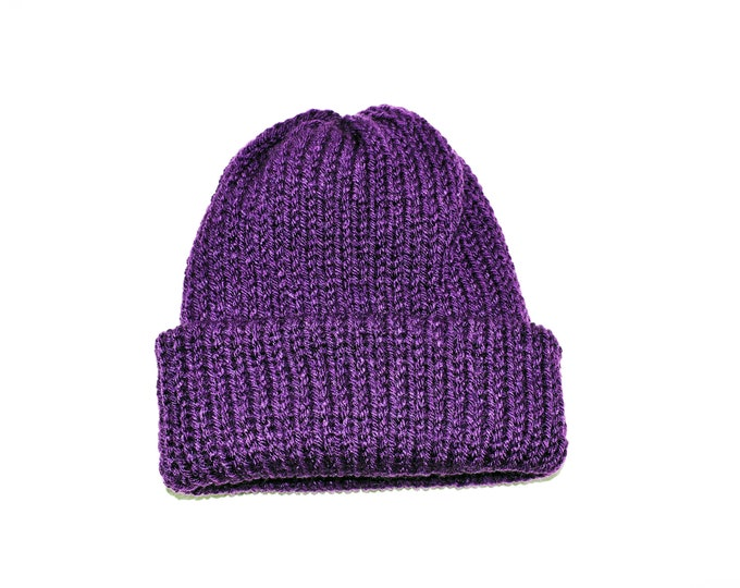 The Classic  Beanie Paradise Purple