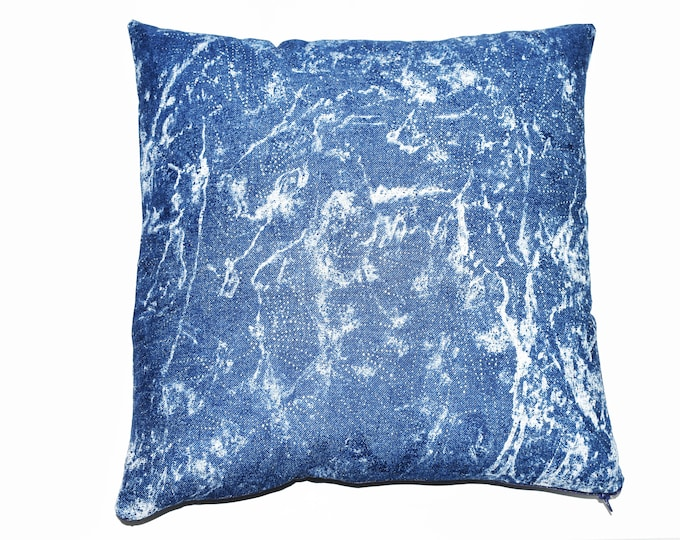 Decorative Pillow ~ Glam Jean Bling Throw Pillow Cover
