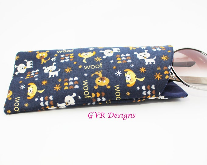 Sunglasses Case Puppy Dog Lovers