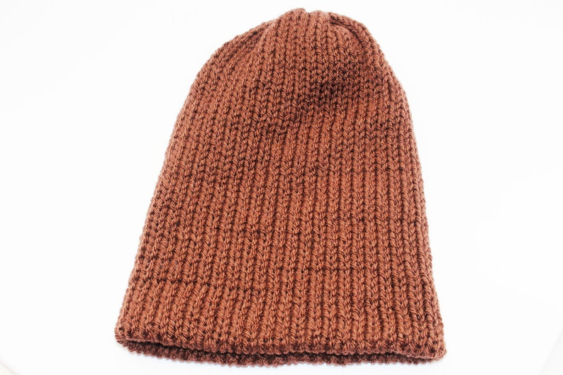 2cbd133f36061 Brown Ski Snowboarding Double Layer Slouchy Beanie Mens