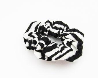 Zebra Animal Print Scrunchie  ~ Hair Cloud