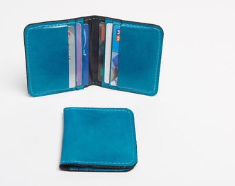 Leather Credit Card Holder Wallet Personalized Wallet Men Mens Wallet Leather Wallet Leather Card Holder Minimalist Wallet Monogram