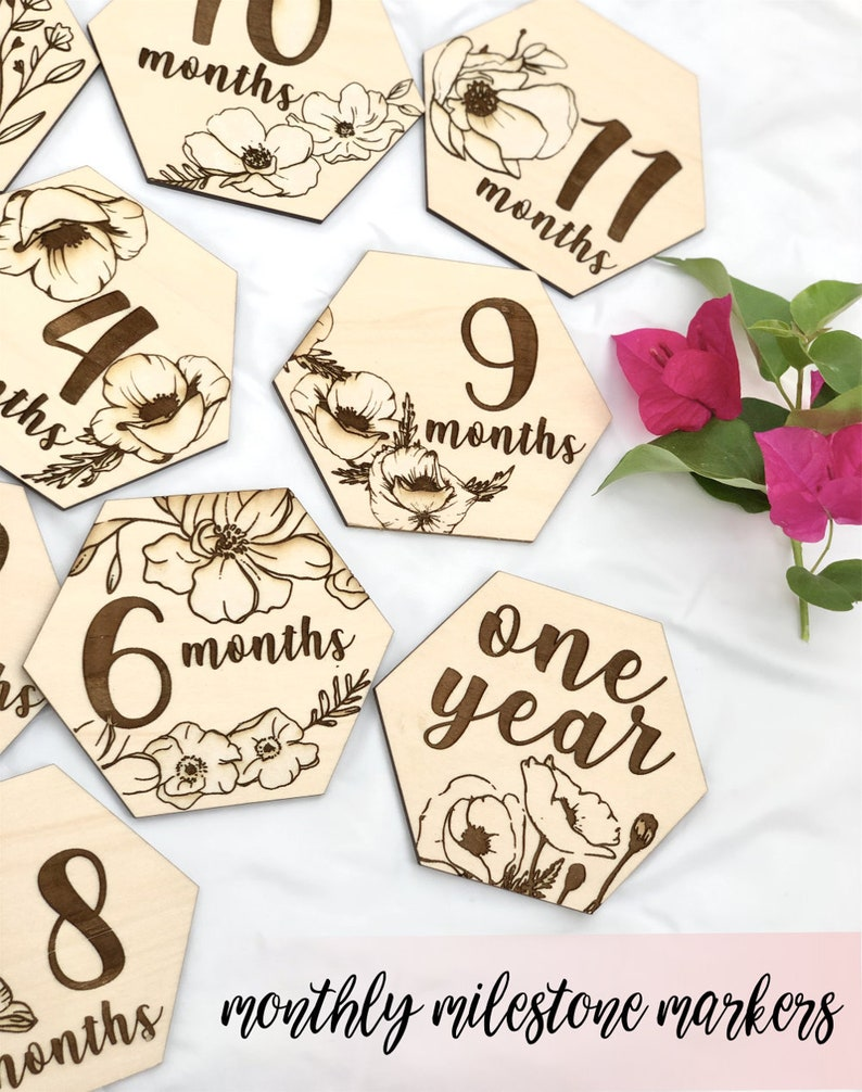 Baby Monthly Milestone Baby Month by Month Baby Monthly image 0