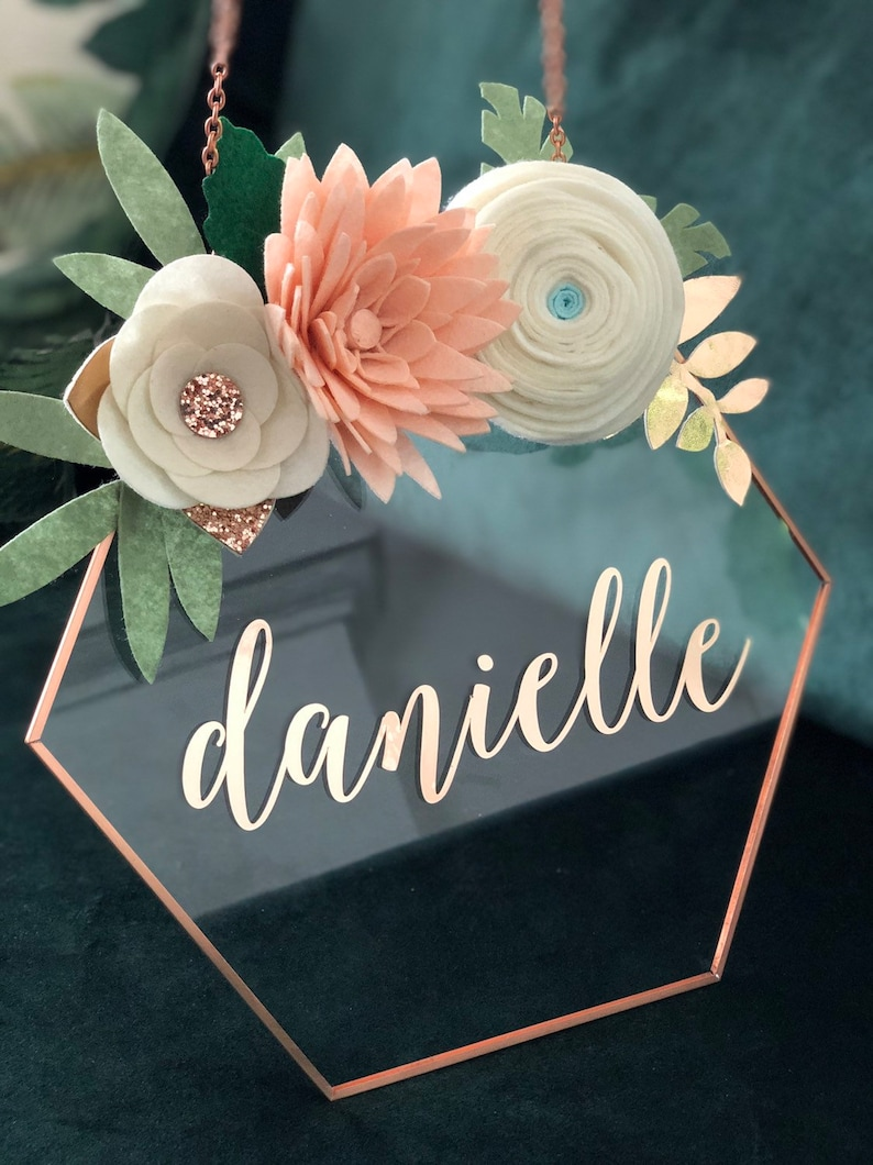 Baby Sign / Baby Gift / Baby Shower Gift / Custom Name Sign / image 0