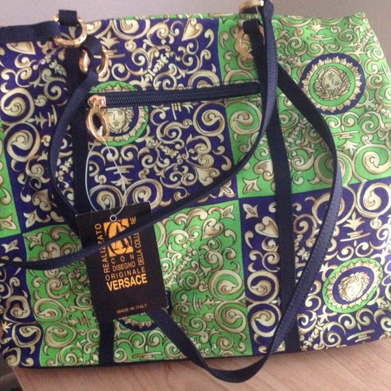 Brand New Vintage Gianni Versace Set Purse & Match
