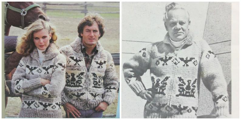 e2308d648b4 White Buffalo Wool Cowichan Thunderbird Sweater Knitting