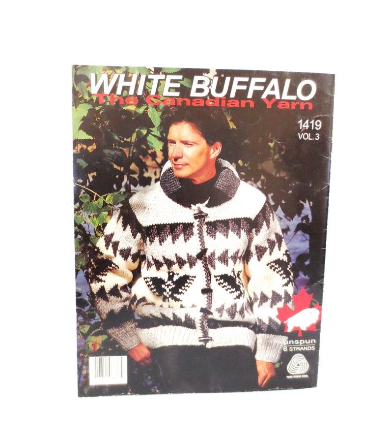 4919b4015da White Buffalo Wool Cowichan Style Sweater Knitting Pattern