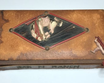 Vintage Western Themed Box - Bar N Ranch - Cowboy/Rodeo