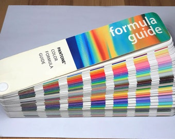 Old Pantone Color Formula Guide 11th Printing (1997-1998)