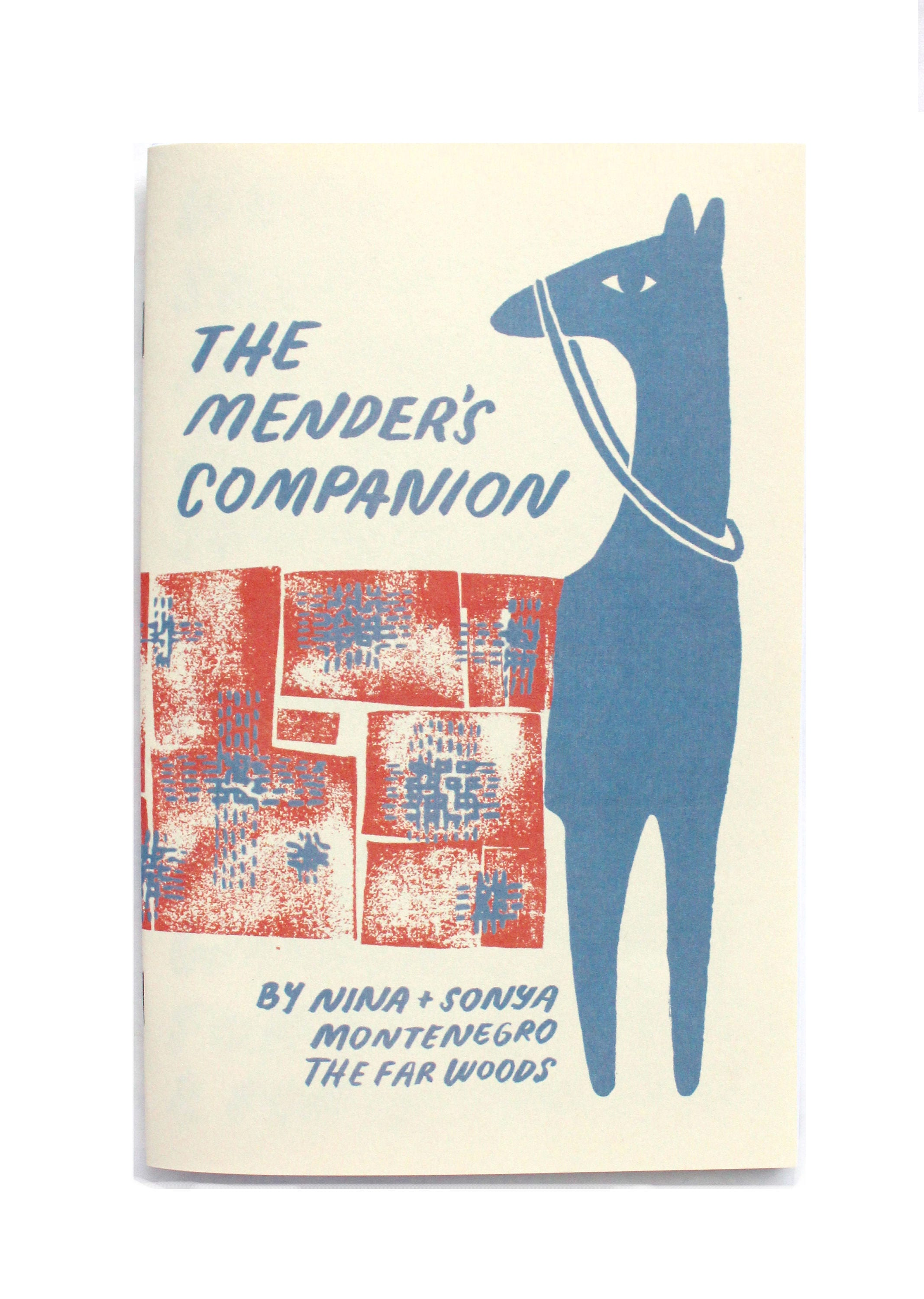 The Mender\'s Companion: Sewing Zine How-to Mend Book