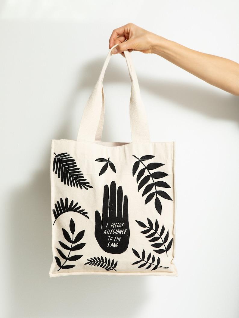 b3f4b3cd39c5d Organic Cotton Tote Bag Canvas Market Bag Reusable Tote Bag   Etsy
