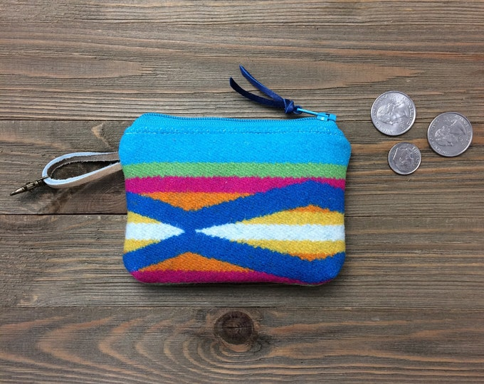 LIV*Ware Coin Purse featuring Pendleton Wool