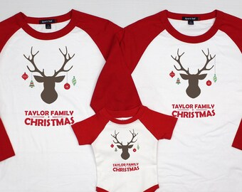 24135a970fdb Matching family christmas pajamas