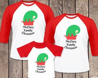 matching family elf pajamas elf christmas raglan shirts family elf christmas shirts this is for one raglan bodysuit or tshirt