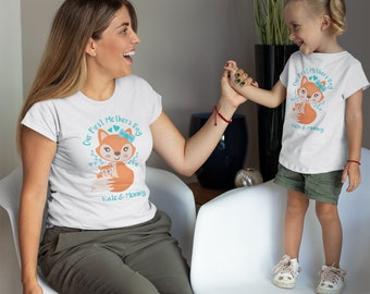 Fox Baby Gift Matching Family Shirts Fox Shirts Fox Baby Shower Mommy /& Me Outfit Fox Gifts Boho Baby Clothes Mommy and Me Shirts