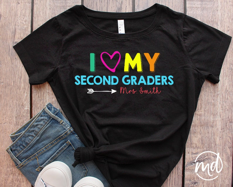 8c871ef2 I Love My Second Graders I Love My 2nd Graders 2nd Grade | Etsy