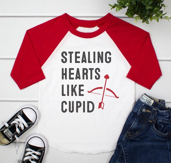 Toddler Boy Valentine Outfit Toddler Boy Valentines Day Etsy