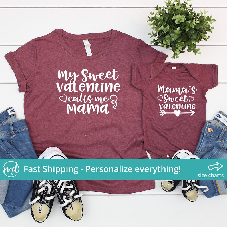 Mom and Me Valentine Outfit Mommy and Me Valentine Shirts  f0bc1102c303