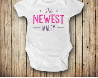Personalized Newborn Outfit, Take Home Outfit, Baby Shower Gift, Baby Girl, Baby Boy, Customizable