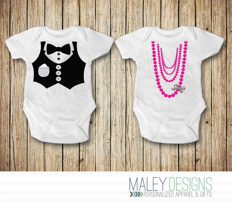 013aa3ed4 Twin Baby Clothes Twin Boy and Girl Outfits Matching Twin
