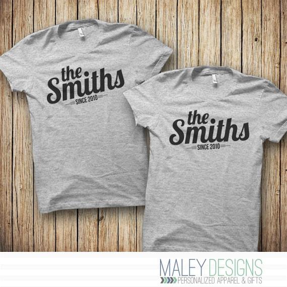 Honeymoon Clothes Gifts: Matching Couples Shirts Honeymoon Shirts Wedding Gift For