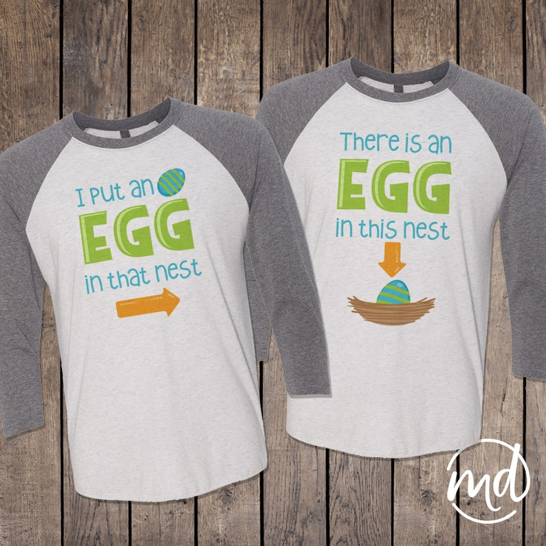 896a3c8902487 Easter Pregnancy Announcement Shirt Funny Easter Shirts | Etsy
