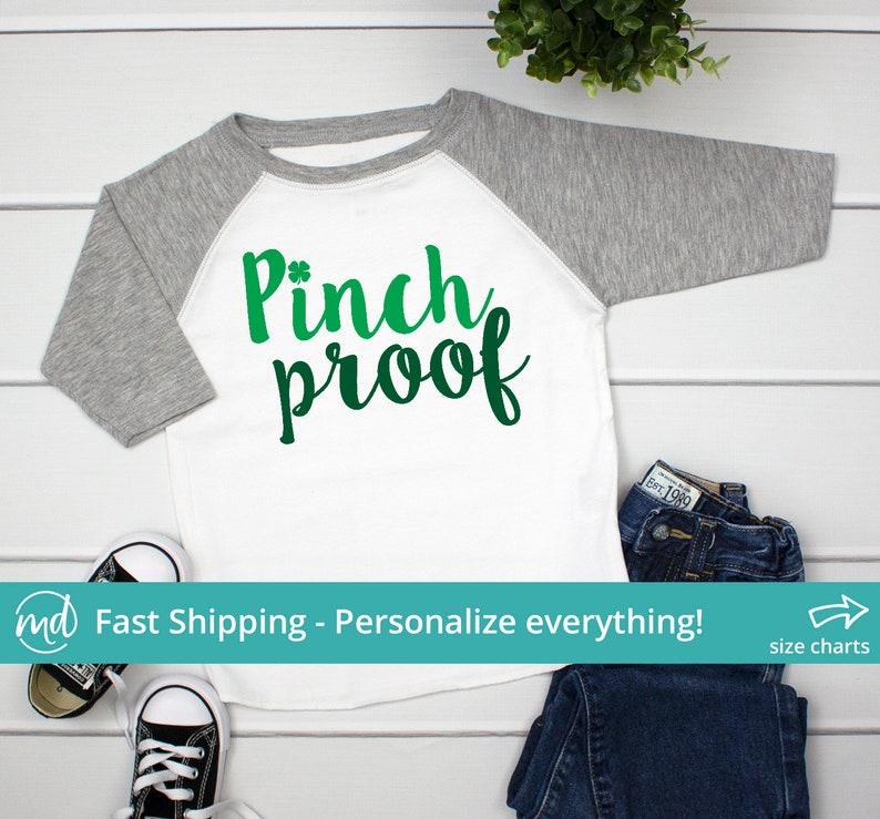 04ad4b79 Pinch Proof Shirt, St. Patrick's Day Shirt for Boys St Patricks Day Outfit,  Boys St Pattys Day Shirt, Saint Patricks Day Boy, PAT-002