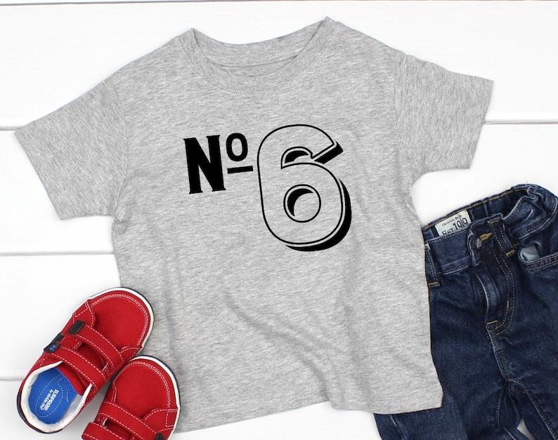 Birthday Shirt 6 Years Old 6th Boys Six Year
