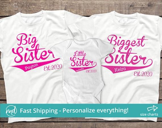 big sister little sister tops