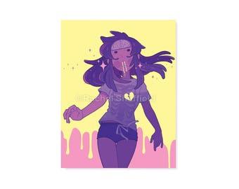Acid Rain Print