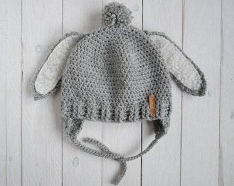 Cappello bambino Volpe orecchie Cappello lana  2152a11740ed