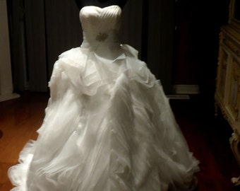 Wedding Gown, wedding dress, plus size wedding dress available