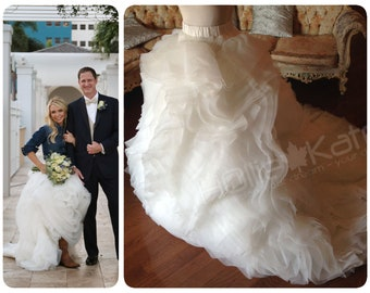 1f916f7d0 2 Piece wedding dress, country wedding dress - wedding skirt