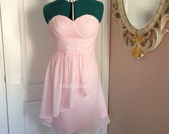 Blush bridesmaid dress, Pink Bridesmaid dress, Blush dress, Pink dress