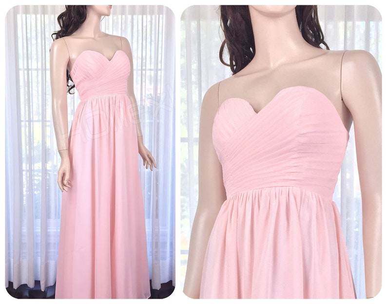 a403e25d98 Bridesmaid dress Blush Pink Sweetheart Blush Bridesmaid