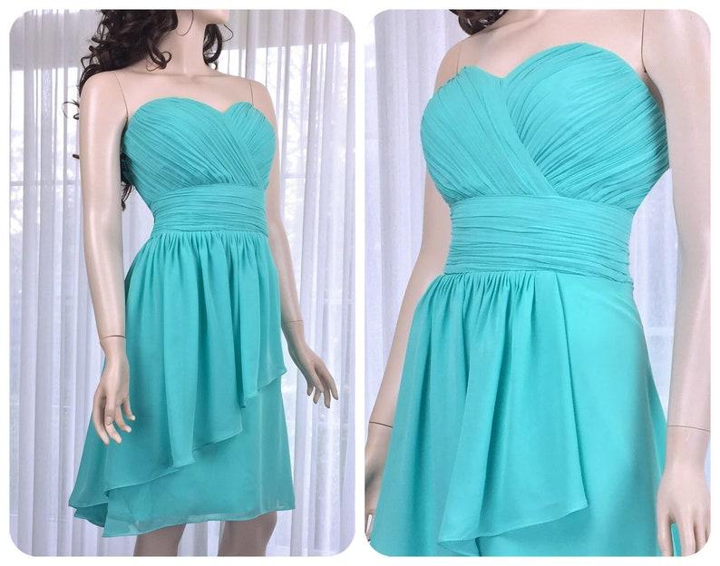 Turquoise Bridesmaid Dress Etsy