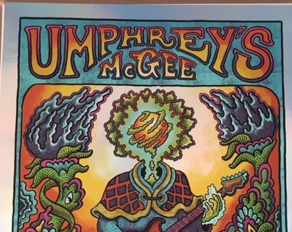 Rainbow Foil - Umphrey's McGee Kansas City, MO Print