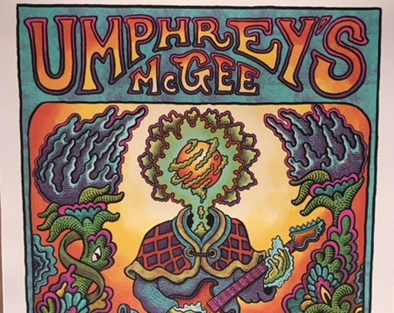 Regular Edition-Umphrey's McGee Kansas City, MO Print