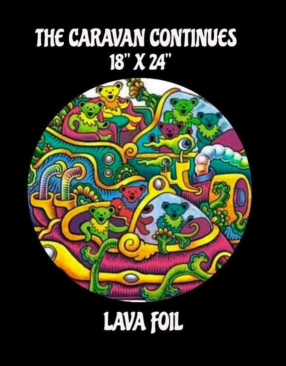 Lava Foil Variant- The Caravan Continues