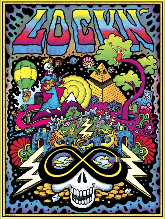 LOCKN' Official Print