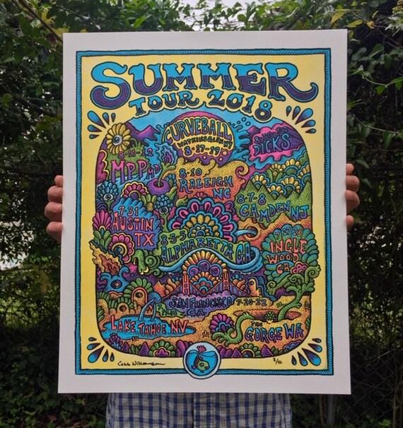Summer Tour 2018 Print