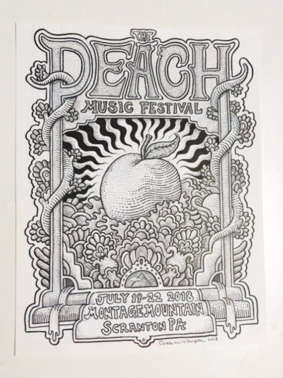Peach Fest *ORIGINAL INK*