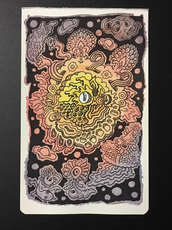 2. Watercolor sketchbook page
