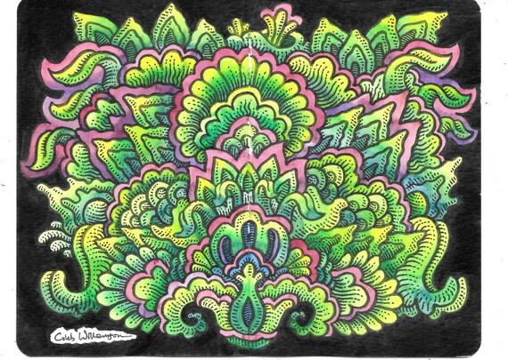 WC Sketchbook Page 1