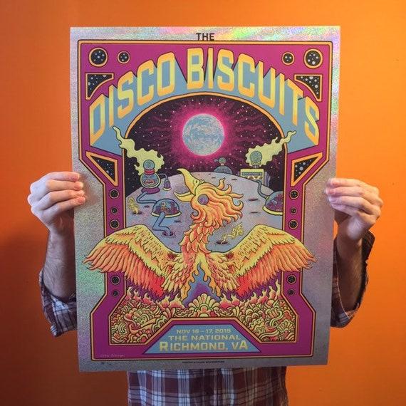 FOIL Disco Biscuits - Richmond VA 2019