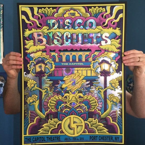 1*FOIL* the Disco Biscuits Capitol Theatre 2019 print