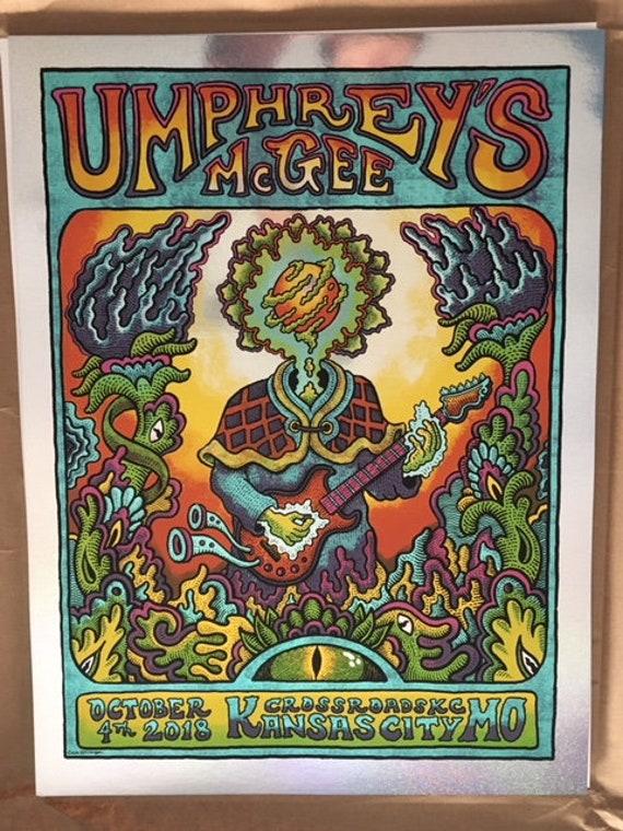 Sparkle Foil - Umphrey's McGee Kansas City, MO Print
